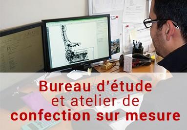 Bureau d'étude et atelier de confection sur mesure